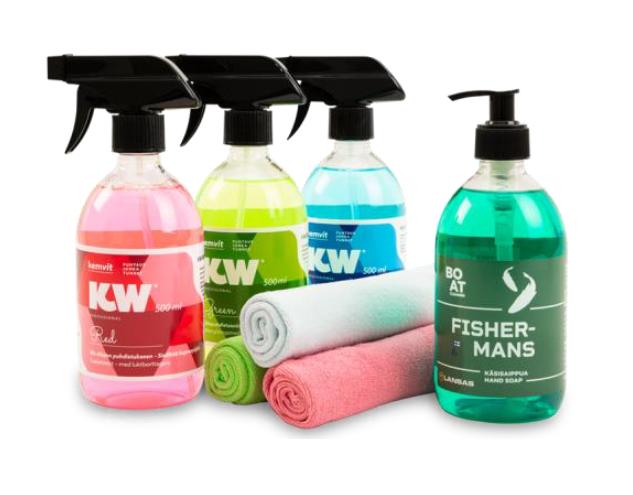 KW Sortiment -puhdistusämpäri